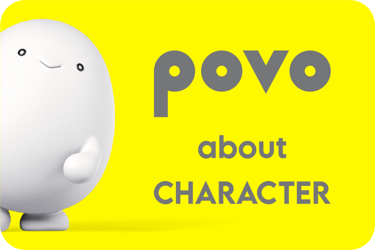 povo about CHARACTER